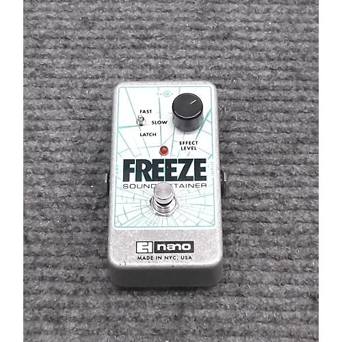 Electro-Harmonix Freeze Sound Retainer Effect Pedal