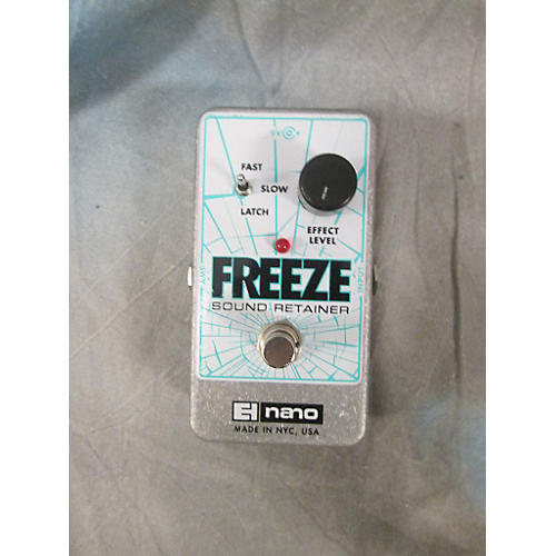 Electro-Harmonix Freeze Sound Retainer Effect Pedal-thumbnail