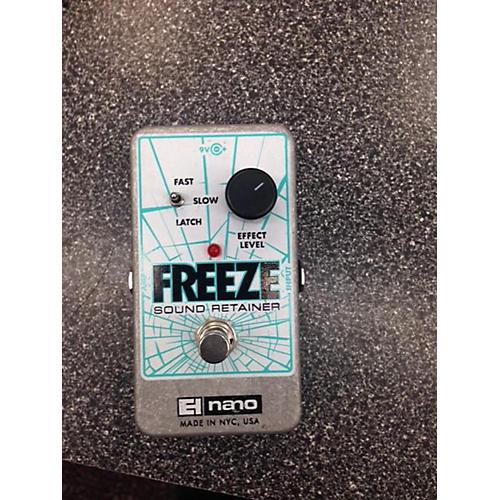 Electro-Harmonix Freeze Sound Retainer Effect Pedal
