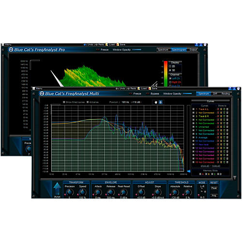 Blue Cat Audio FreqAnalyst Frequency Analysis Plug-in Pack Software Download