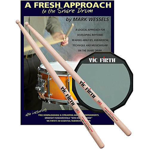 Vic Firth Fresh Approach Starter Pack-thumbnail