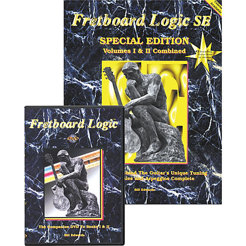 Bill Edwards Publishing Fretboard Logic DVD with SE Special Edition Combo-thumbnail