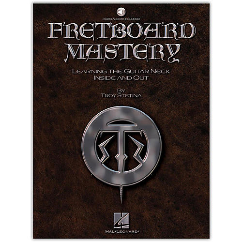 Hal Leonard Fretboard Mastery Book with CD