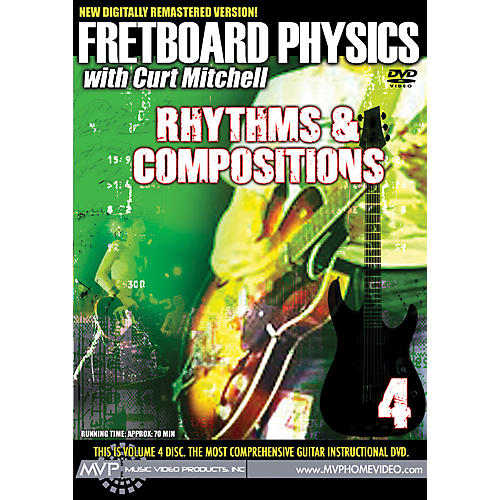 MVP Fretboard Physics 4 DVD - Rhythms & Compositions for Guitarists-thumbnail