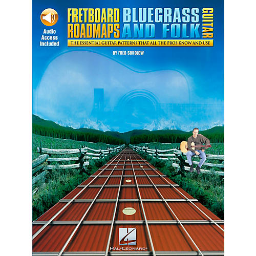 Hal Leonard Fretboard Roadmaps - Bluegrass and Folk Guitar (Book/CD)-thumbnail