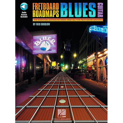 Hal Leonard Fretboard Roadmaps - Blues Guitar Book/CD