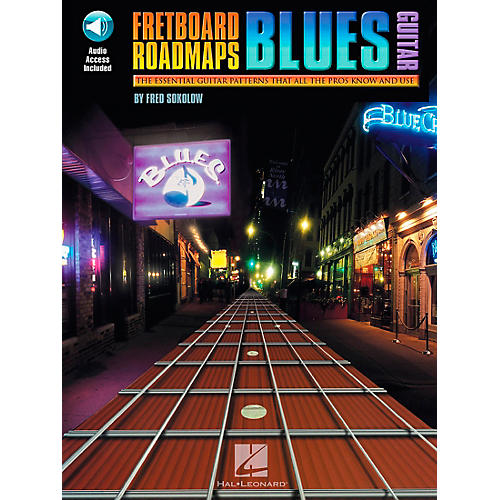 Hal Leonard Fretboard Roadmaps - Blues Guitar Book/Online Audio