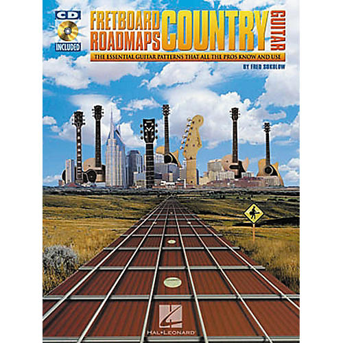 Hal Leonard Fretboard Roadmaps - Country Guitar (Book/CD)-thumbnail