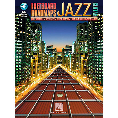 Hal Leonard Fretboard Roadmaps - Jazz Guitar Book/CD