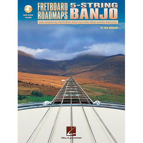 "Hal Leonard Fretboard Roadmaps "" 5-String Banjo (Book/CD)-thumbnail"