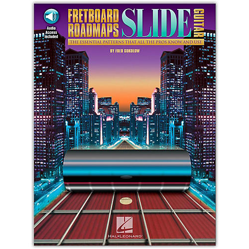 "Hal Leonard Fretboard Roadmaps "" Slide Guitar (Book/CD)"