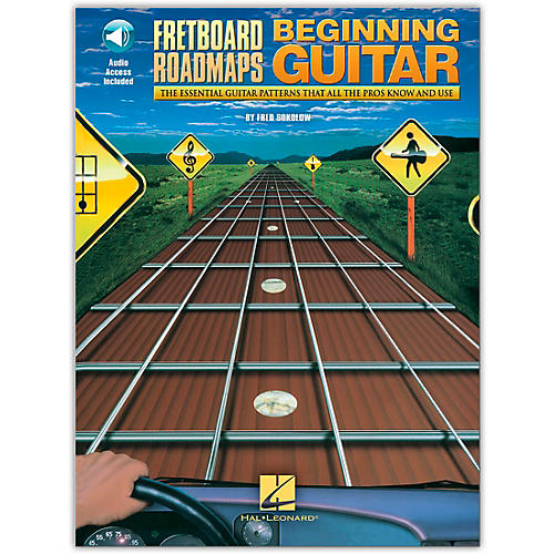 Hal Leonard Fretboard Roadmaps for the Beginning Guitarist (Book/Online Audio)-thumbnail