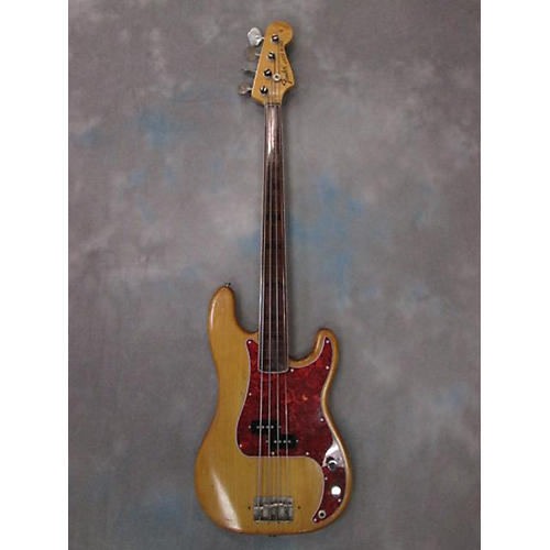 Fender Fretless Precision Electric Bass Guitar