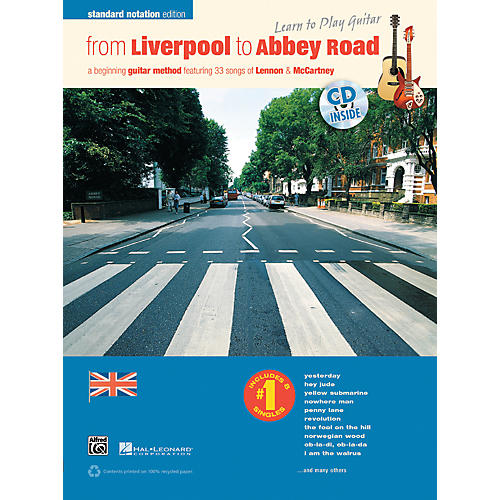 Alfred From Liverpool to Abbey Road Standard Notation Edition Book & CD