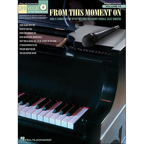 Hal Leonard From This Moment On - Pro Vocal Songbook Women's Edition Volume 50 Book/CD