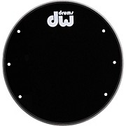 DW Front Ported Bass Drumhead with Logo
