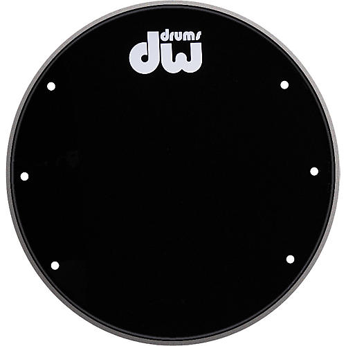 DW Front Ported Bass Drumhead with Logo-thumbnail