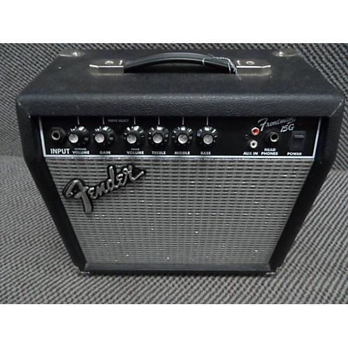 used fender frontman 15g 15w guitar combo amp guitar center. Black Bedroom Furniture Sets. Home Design Ideas