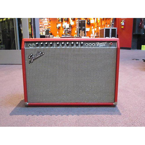 Fender Frontman 212R 100W 2X12 Red Guitar Combo Amp-thumbnail