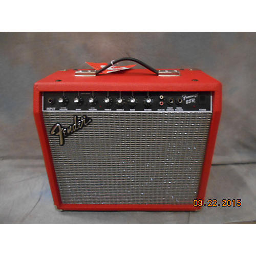 Fender Frontman 25R 1X10 25W Red Guitar Combo Amp-thumbnail