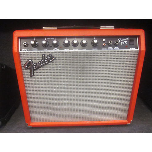 Fender Frontman 25R 1X10 25W TEXAS RED Guitar Combo Amp-thumbnail