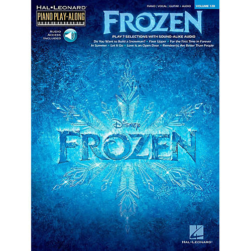 Hal Leonard Frozen - Piano Play-Along Volume 128 Book/Online Audio-thumbnail