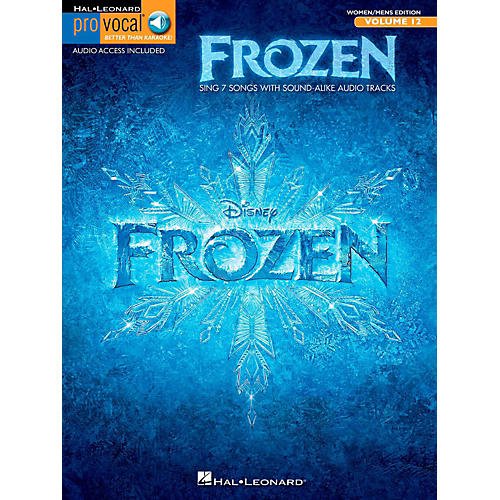 Hal Leonard Frozen - Pro Vocal Songbook & Online Audio For Women/Men Volume 12-thumbnail