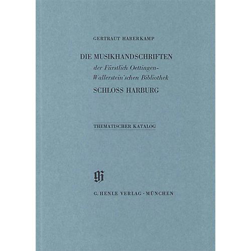 G. Henle Verlag Fürstlich Oettingen-Wallerstein'sche Bibliothek Schlo Harburg Henle Books Series Softcover