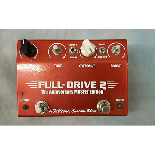Fulltone Full-Drive 2 10th Anniversary Mosfet Edition Effect Pedal-thumbnail