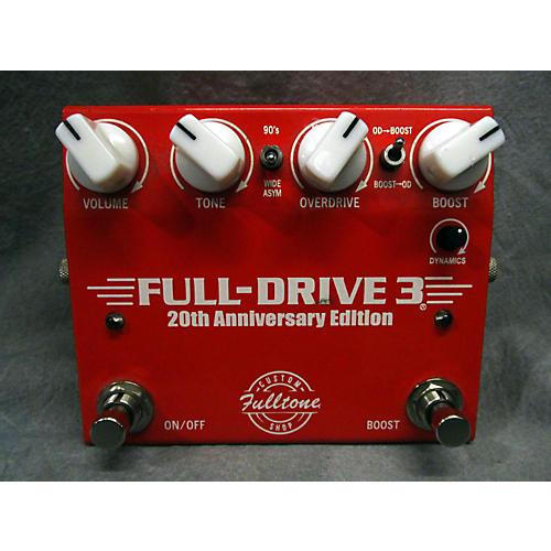 Fulltone Full Drive 3 20th Anniversary Edition Effect Pedal-thumbnail