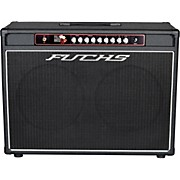 Full House 2x12 50W Tube Guitar Combo Amp and 4-Button Artist Footswitch Kit