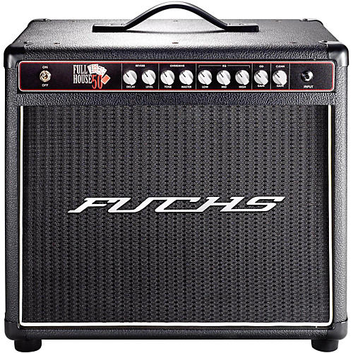 Fuchs Full House 50W Tube Guitar Combo Mini-Amp and 4-Button Artist Footswitch Kit-thumbnail