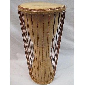 Pre-owned Overseas Connection Full Size Talking Drum Djembe by Overseas Connection