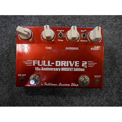 Fulltone Fulldrive 2 10th Anniversary Edition Effect Pedal