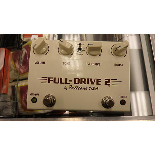 Fulltone Fulldrive 2 Limited Edition Custom Shop Effect Pedal-thumbnail