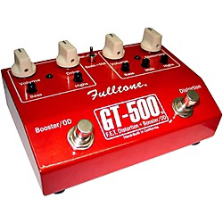Fulltone GT-500 FET Distortion + Booster and Overdrive Guitar Effects Pedal