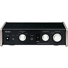 TEAC Fully Analog Dual Monaural Headphone Amplifier. Black Color