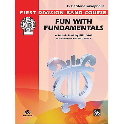 Alfred Fun with Fundamentals B-Flat Baritone Saxophone Book