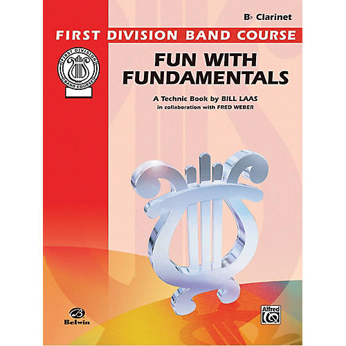 Alfred Fun with Fundamentals B-Flat Clarinet Book-thumbnail