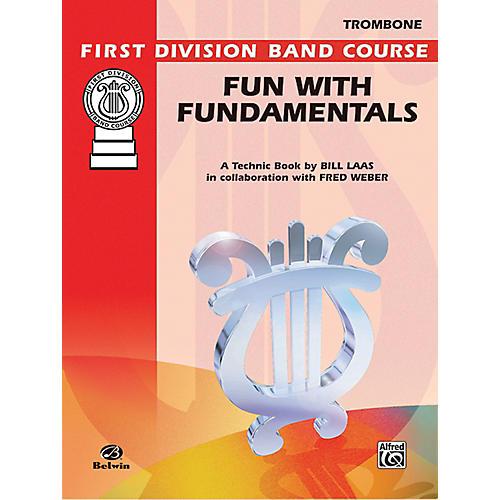 Alfred Fun with Fundamentals Trombone Book-thumbnail