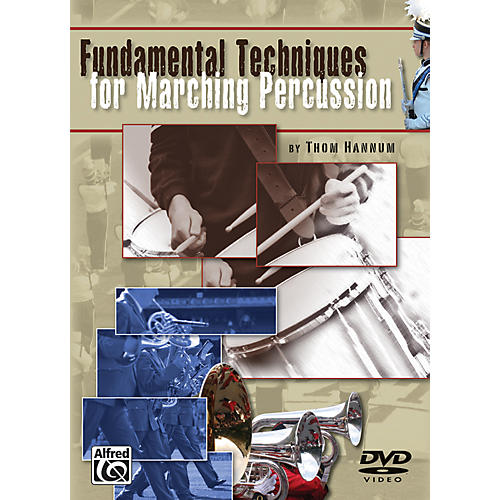 Alfred Fundamental Techniques for Marching Percussion DVD-thumbnail