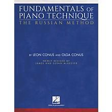 Hal Leonard Fundamentals of Piano Technique - The Russian Method Piano Instruction Series Softcover by Olga Conus