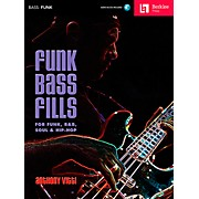 Berklee Press Funk Bass Fills - For Funk, R&B, Soul & Hip-Hop Book/CD