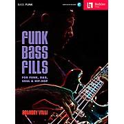 Funk Bass Fills - For Funk, R&B, Soul & Hip-Hop Book/CD
