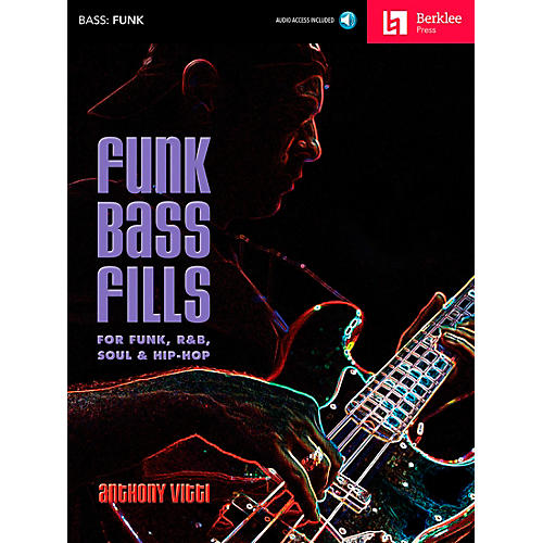 Berklee Press Funk Bass Fills - For Funk, R&B, Soul & Hip-Hop Book/CD-thumbnail