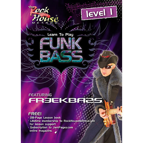 Hal Leonard Funk Bass Level 1 with Freekbass (DVD)-thumbnail