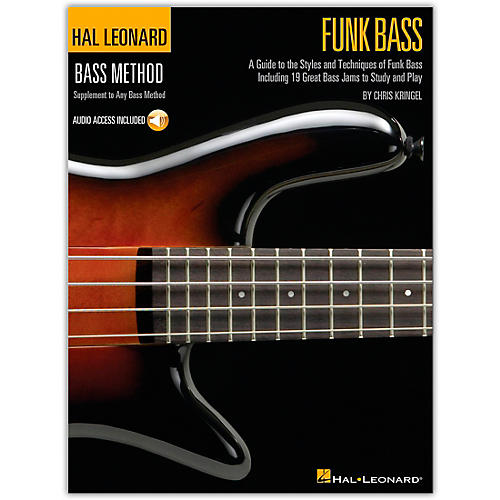 Hal Leonard Funk Bass Method (Book/Online Audio)-thumbnail