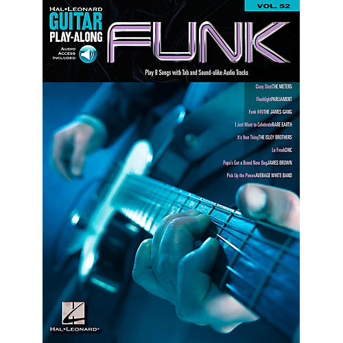 Hal Leonard Funk Guitar - Guitar Play-Along Series, Volume 52 (Book/CD)