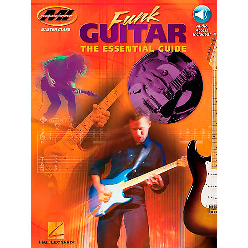 Hal Leonard Funk Guitar Book/CD
