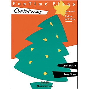 Faber Piano Adventures Funtime Piano Christmas Level 3A-3B Easy Piano - Fab... by Faber Piano Adventures